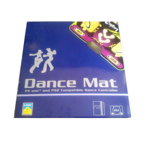 Logic 3 Dance Mat PS1 And PS2 Compatible