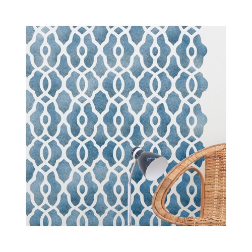 KASBAH Furniture Wall Floor Stencil for Painting