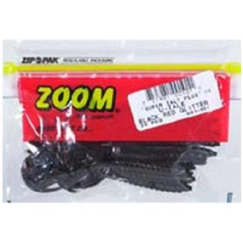 Zoom 017-013 4 in. Pumpkin Color Dead Ringer Plastic Worms, 20 Pack