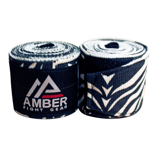 "Adult 180"" – 4.5 Meters Mexican Style Semi-Elastic Hand Wraps with Pattern for Boxing Kickboxing Muay Thai MMA Classes, Gym, or Home Workouts"