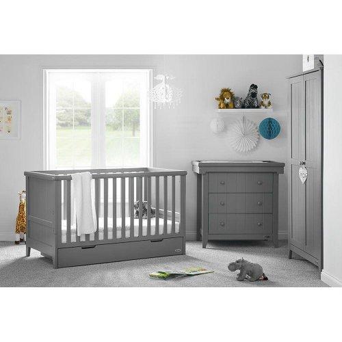 Obaby Belton 3 Piece Room Set - Taupe Grey