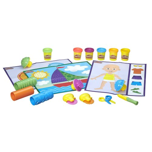Play-Doh B3408 Shape and Learn Textures and Tools