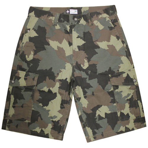 Lrg Core Collection Classic Cargo Shorts Olive Camouflage