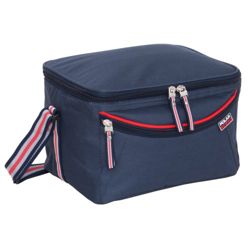 Polar Gear Luxury 6L Personal Insulated Cool Bag , Navy Blue