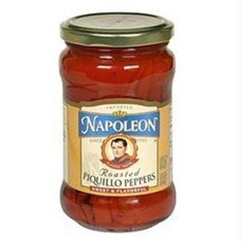 Napoleon B23889 Napoleon Roasted Piquillo Peppers  -12x9.9oz