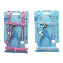 Flower Reflective H Harness Assorted Sml (Pack of 3)