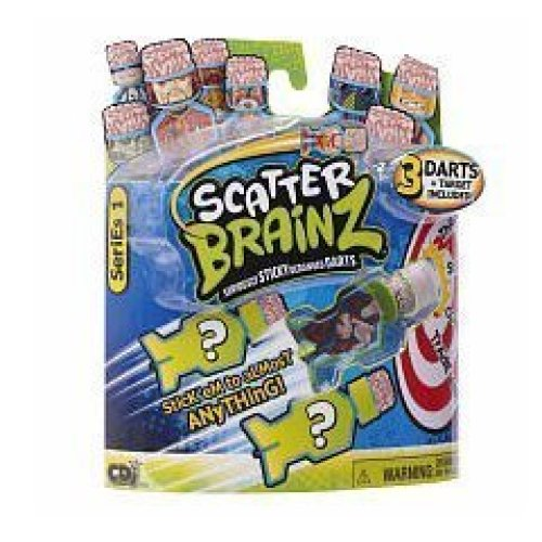 Scatter Brainz Seriously Sticky Deranged Darts Series 1