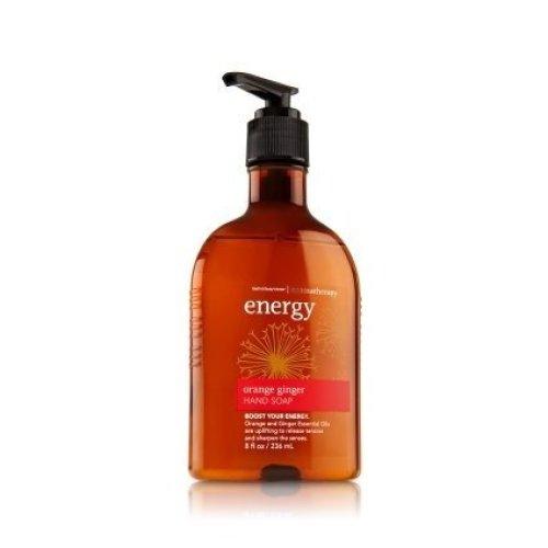 Bath and Body Works Aromatherapy Orange Ginger Hand Soap 8 FL OZ