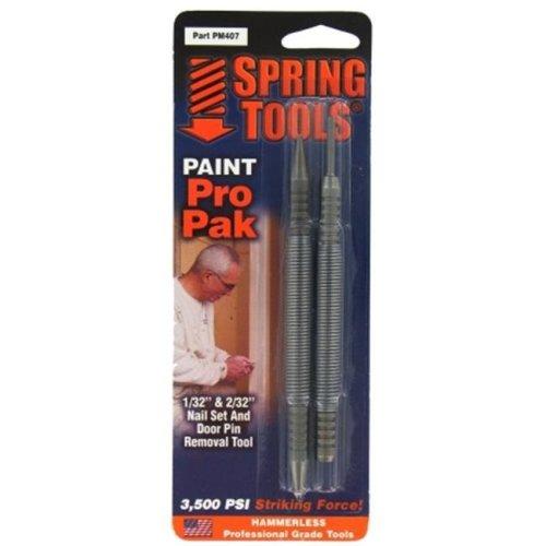 Spring Tools Paint Pro Pak Nail Set & Door Pin Remover  PM407