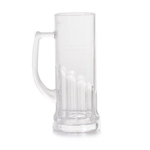 Essentials 21oz Stein Plastic Mug - Dishwasher Proof Plastic