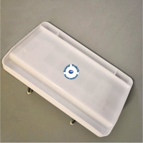 Oceansouth Large Fishing Bait Tray / Cutting Board - Rod Holder Mount