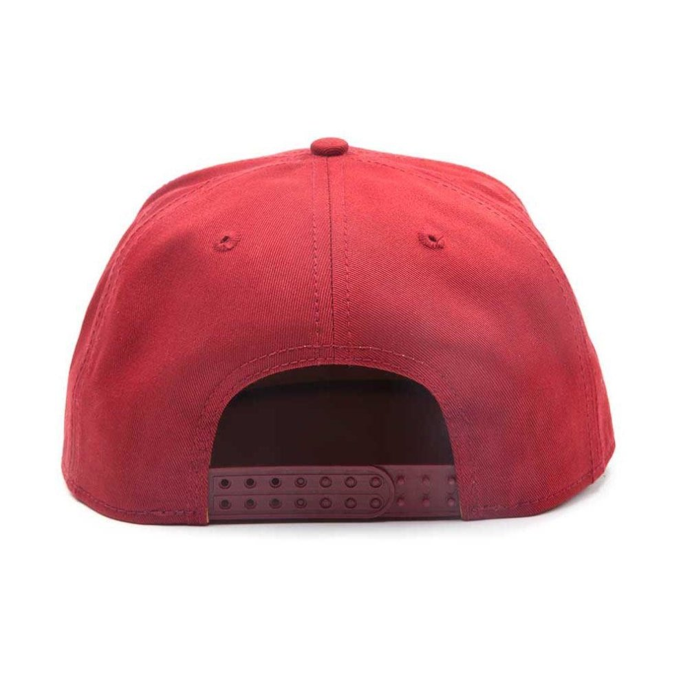 factory price 97f97 9f5f9 ... Marvel Comics Iron Man Unisex Tony Stark 3D Logo Snapback Baseball Cap  - Red - 1 ...