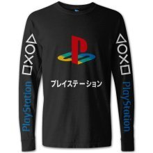 PlayStation Japanese Colour Logo Long Sleeve Shirt