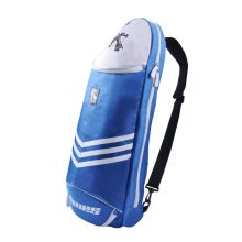 Waterproof Badminton Racket Cover Racquet Bag Sling Bag Backpack Sports - Blue