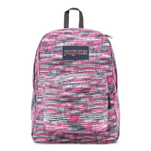 e644bff2a626 JanSport Superbreak School Backpack - Multi Sweater Knit - Silver