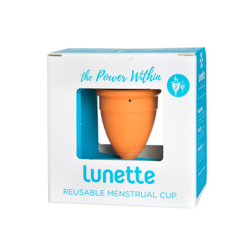Lunette  Menstrual Cup Orange Model 2 Single