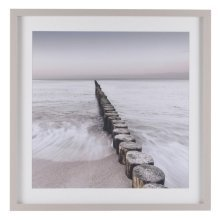 North Sea I Short Groynes Framed Print