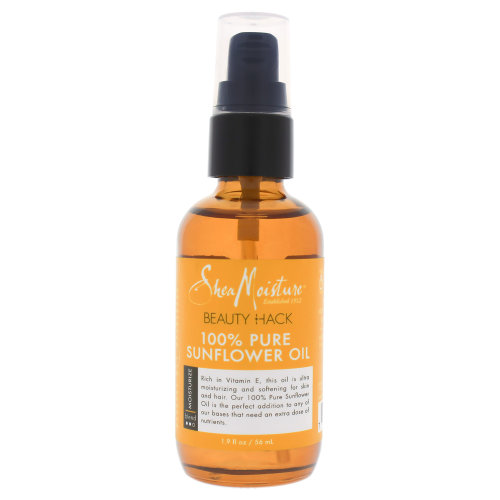 100 Percent Pure Sunflower Oil Head To Toe Smoothing Oil by Shea Moisture for Unisex - 1.9 oz Oil