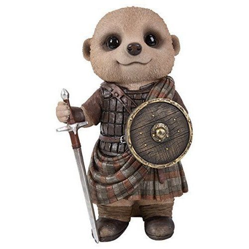 Vivid Arts - Baby Meerkat - William Wallace - Garden Ornament/Decoration/Gift