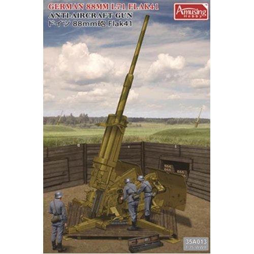 1:35 German 88mm L71 Flak41 Anit-Aircraft Gun Military Model Kit
