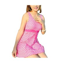 Cover Belly Conjoined Swimming Apparel/Small Chest Gather Swimsuit
