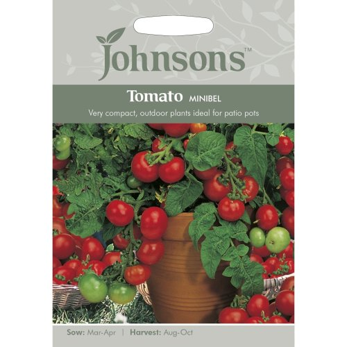 Johnsons Seeds - Pictorial Pack - Vegetable - Tomato Minibel - 50 Seeds