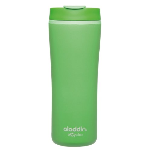 Aladdin Recycled and Recyclable Leak Proof Travel Mug, Green, 0.35 Litre