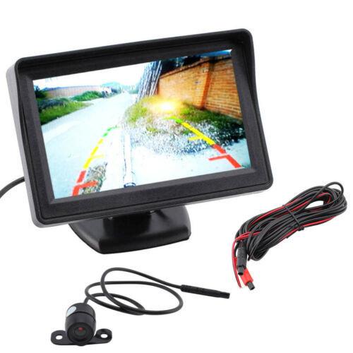 "4.3"" LCD Monitor + 1 x Rear View Reversing Camera Kits For Car Bus Truck"