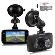 Senwow Dash Cam (16GB Card Included) 1080P Full HD Car Camera 2.7""