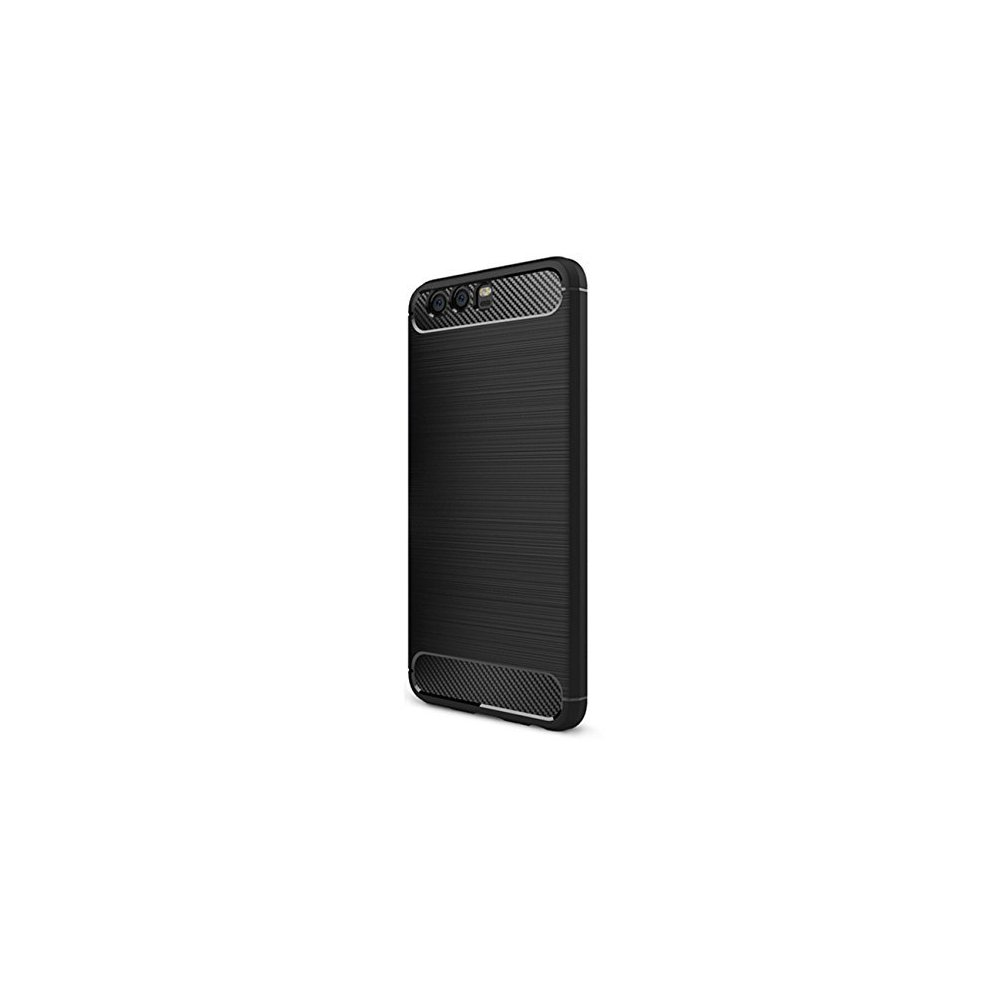 new arrival 2a233 e2aec Huawei Honor 9 Case, Ultra Slim Soft Silicon Shockproof Luxury Brushed  Protective Cover Case with Texture Carbon Fiber Design for Huawei Honor 9...