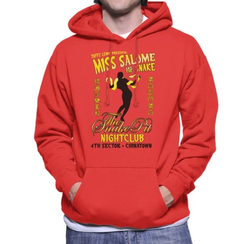 Miss Salome And The Snake Blade Runner Men's Hooded Sweatshirt