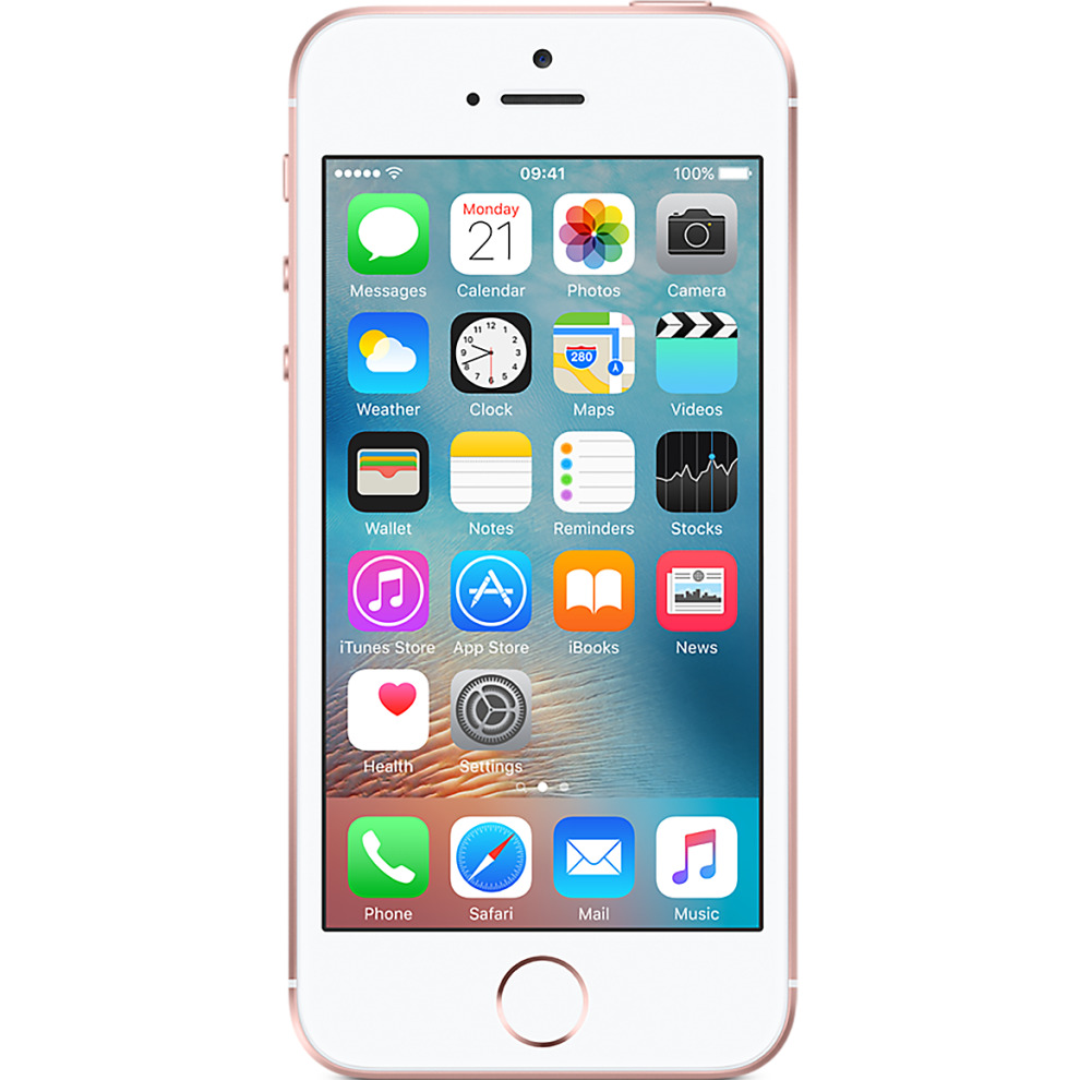 EE, 16GB Apple iPhone SE - Rose Gold