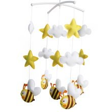 Cute Hanging Toys, Birthday Gift, Musical Mobile [Bee Colony] Cute Decor