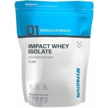 Myprotein Impact Whey Isolate Powder | Chocolate Smooth Flavour 1000g