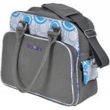 Aqua Circles Changing Bag With Pull & Wipe -  dooky changing bag circles blue original baby pull wipe nappy new 4 designs aqua 126571