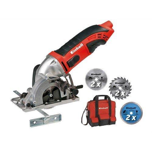 Einhell 4330994 TC-CS 860/2 Mini Circular Saw Kit 450 Watt 240 Volt