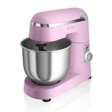 Swan Retro Stand Mixer with Bowl 4.5 Litre 600 Watt - Pink (SP25010PN)