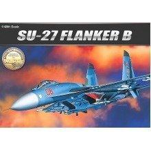 Aca12270 - Academy 1:48 - Sukhoi Su-27 Flanker B