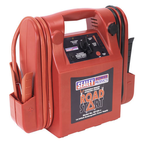 Sealey RS105 12/24V RoadStart Emergency Power Pack 3200/1600 Peak Amps