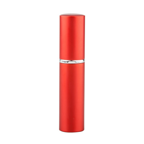 Easy-Fill Perfume Atomiser Bottle – Red   5ml Travel Aftershave Spray Container