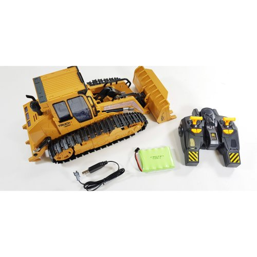 RC Bulldozer Crawler Remote Control Bulldozer Excavator Construction