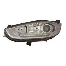 Ford Fiesta 5 Door Hatchback  2013-2017 Headlamp With LED Daytime Running Lamp - Chrome Passenger Side L