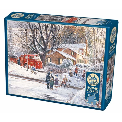 CBL85065 - Cobblehill Puzzles 500 pc - Big Game Tomorrow