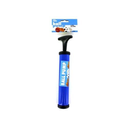 "Bulk Buys GM165-24 9.75""L x 1.5""Dia. Bulk Ball Pump with Needle - Pack of 24"
