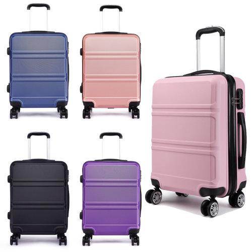 KONO Luggage Suitcase Travel Cabin Trolley Case Hard Shell ABS 4 Wheels Spinner 20 Inch