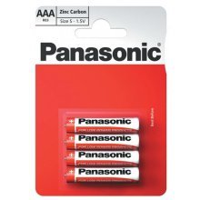Panasonic 1010 Zinc AAA Micro Special Power Battery - Pack of 12 (R03R-4BP)