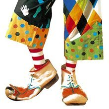 Rubber Clown Shoes For S Accessory For Circus Fancy Dress -
