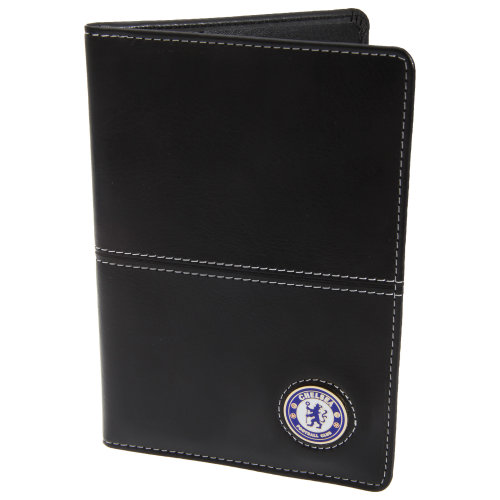 Chelsea FC Official Faux Leather Football Crest Golf Scorecard Holder