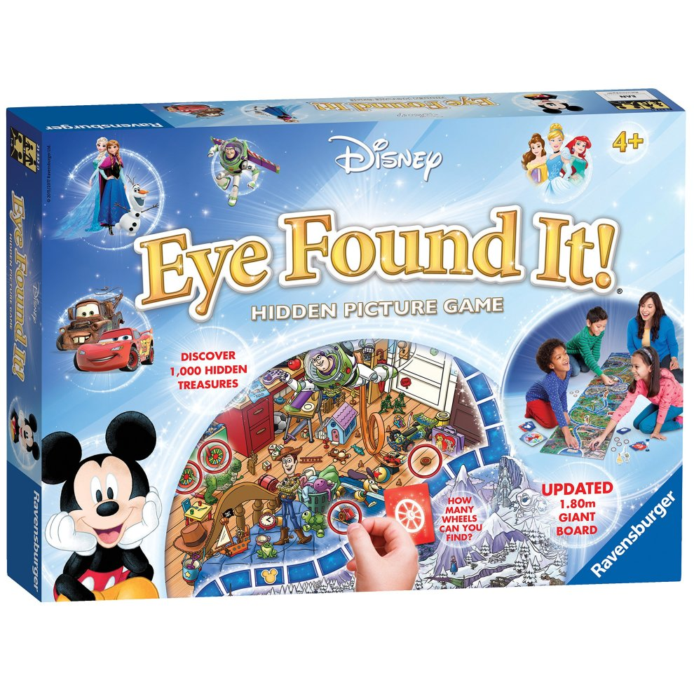 Ravensburger Disney Eye Found It Hidden Picture Game On Onbuy