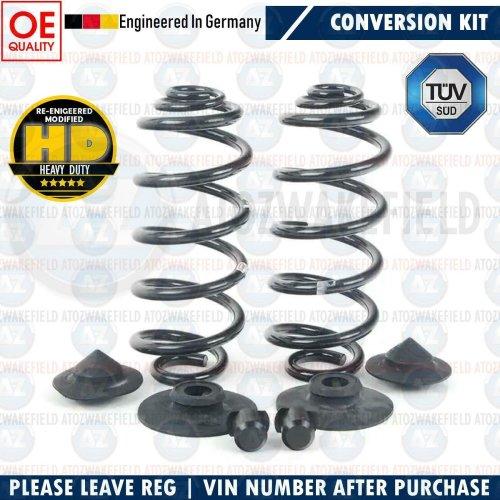 For BMW X6 Rear Air Suspension Bag Coil Spring Conversion Kit E71 E72 2007-2014